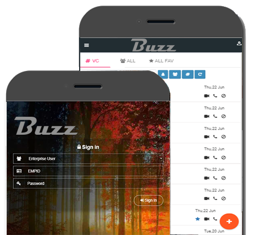 buzzapp screen